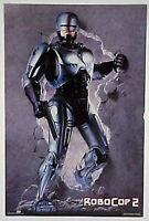 RoboCop II Crash Wall Movie Poster- MINT Rolled