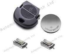 Rinnovamento kit per Nissan Nats Chiave telecomando a 2 pulsanti Almera Tino