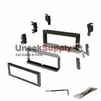 Radio Stereo Install Installation Single Din Dash Kit W/ Wire Harness + Antenna on sale