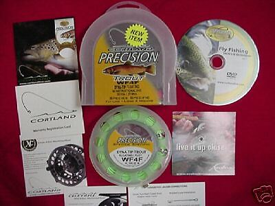 Cortle Fly Line Precision TROUT DYNA TIP GREAT nuovo