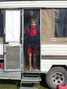 Jayco-AVAN-Camper-Trailers-Camping-FLY-SCREEN-Doorway