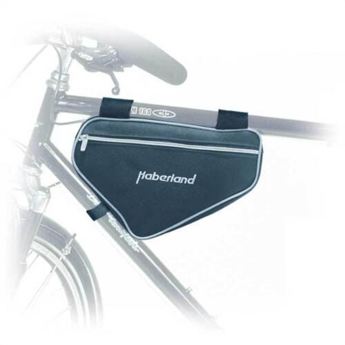 Haberland Rahmentasche groß 30x19x6cm 3 Liter schwarz Fahrrad Tasche
