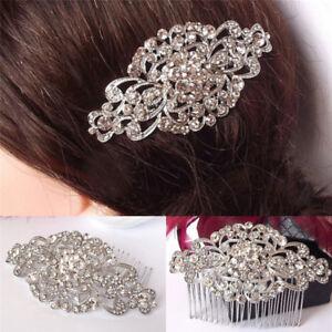 Mariage-mariee-fleur-strass-cristal-diamante-perles-pince-a-cheveux-peigne