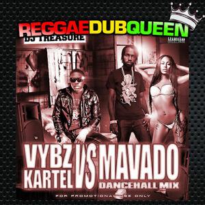 Details about DJ Treasure - Vybz Kartel Vs Mavado Dancehall Mixtape  Reggae  Mix CD  April 2019
