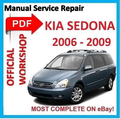 PDF MANUAL KIA CARNIVAL SEDONA 2002 2003 2004 2005 2006 WORKSHOP SERVICE REPAIR