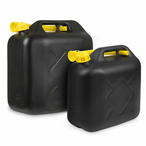 10L-20L-Litre-Jerry-Can-Petrol-Diesel-Fuel-Water-Storage-Container-Can-amp-Spout