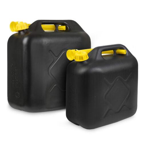 10l//20l Litres Jerrican Essence Diesel Eau Carburant Rangement Récipient