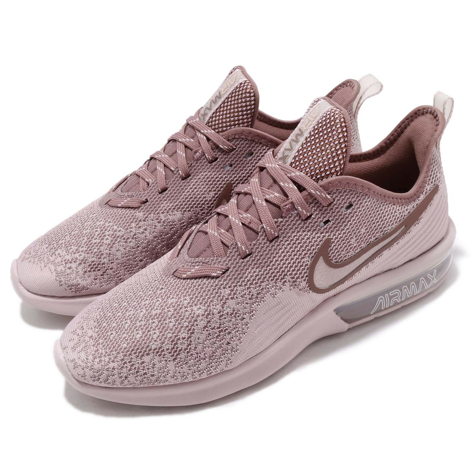 285b9667a9 Nike Wmns Air Max Sequent 4 IV Particle pink Women Running shoes AO4486-600