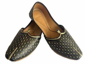 Mens Khussa Shoes Mojari Ethnic Hippy Handmade Jaipuri Punjabi Jutti