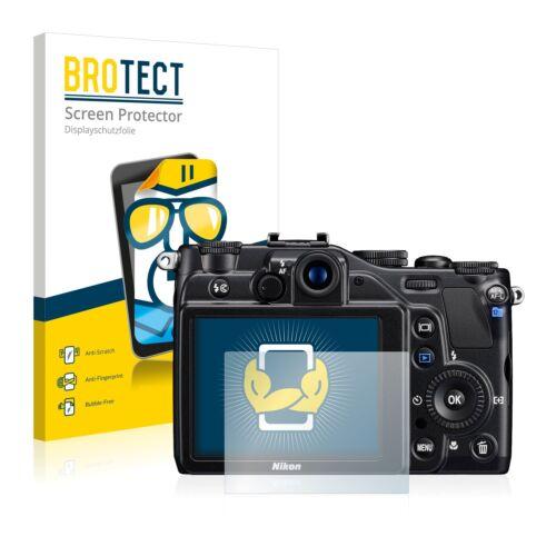 2x lámina protector de pantalla claro Nikon Coolpix s7000 lámina protectora protector de pantalla