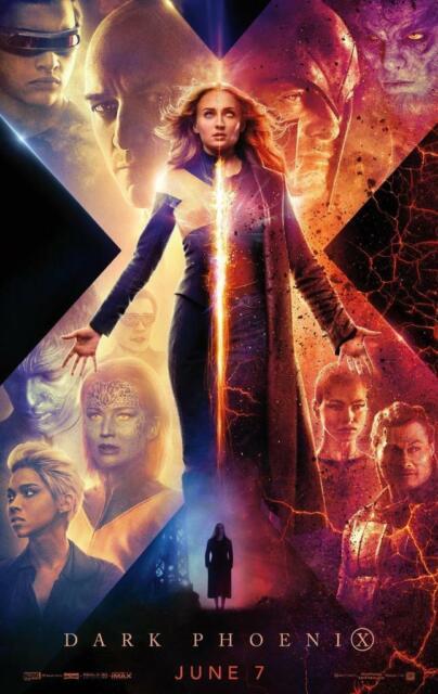 X-Men Dark Phoenix Movie Poster Print Photo 8x10 11x17 16x20 22x28 24x36 27x40