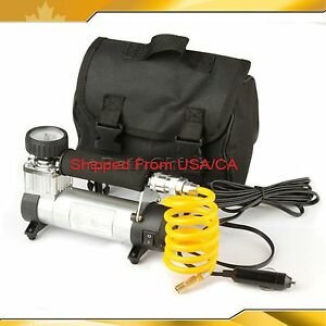 portable air compressor tire pump