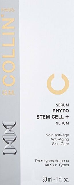 G. M. Collin Phyto Stem Cell + Serum Tester 30 ml / 1 oz New in Box EXP 10/2018