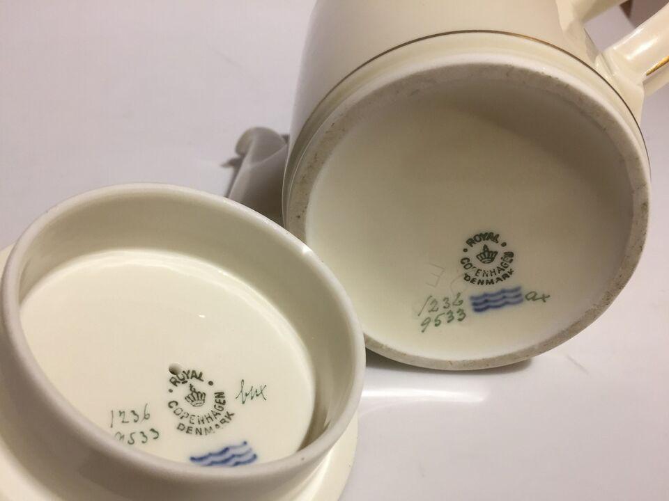 Porcelæn, Kaffekande, Royal Copenhagen / Kongelig