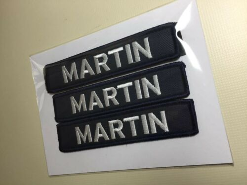 """Customized Name patch 5/"""" X 1/"""" Hook And Loop AirSoft Paintball Weight Plate Vest"""