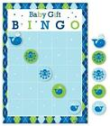Ocean Preppy Boy Baby Shower Gift Bingo Game