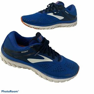 Brooks-Adrenaline-GTS-18-Mens-Sneakers-Size-10-Blue-Running-Shoes-1102711D420