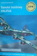 Buch / Book: Typy Broni i Uzbrojenia 104/1985  Samolot Bombowy Halifax