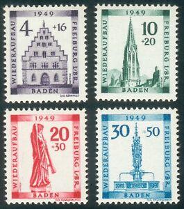 Alliierte-Besetzung-Baden-aus-Mi-nr-38-41-A-Michel-70-00-Pracht