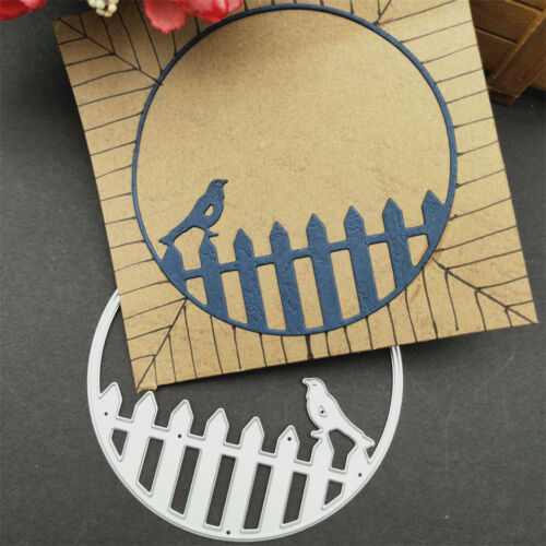 Metal Cutting Die Stencils The bird DIY Craft Embossing Die Cutting Template JU