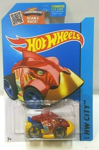 2015 Hot Wheels City Piranha Terror 38 Treasure Hunt