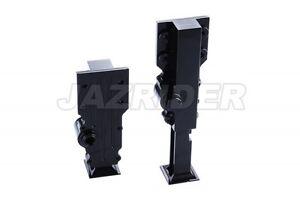 Jazrider Black Aluminum Support Legs Set For Tamiya 1//14 Tractor Trucks Trailer