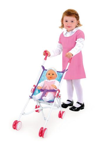 Babypuppen & Zubehör Smoby Frozen Puppenbuggy zusammenklappbar Puppenwagen Puppe Kinderwagen