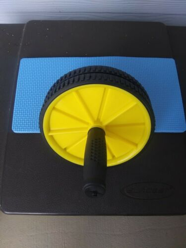 AB Roller Wheel Exercise Workout Fitness Equipment Home Abdominal Training Gym