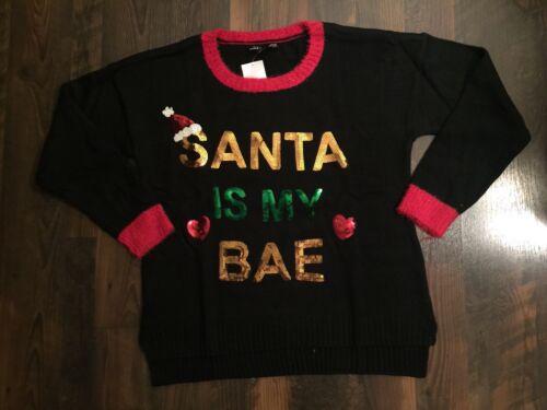 Santa Brutto di My maglione Is da maglioni Black Xl Natale Nwt Bae Stati degli Uniti FTEqAwS