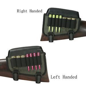 Tourbon-Ammo-Bag-Cartridge-Carrier-Holder-Cheek-Piece-Rest-Rifle-amp-Shotgun-Hunting