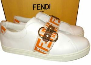 FENDI Logo Pearland Logo Slip-On
