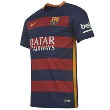 Nike Jr Barcelona 2015-16 Home Camicia-Ragazzi M (età 10-12)
