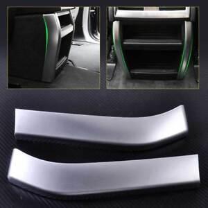 Interieur Hinten Lüftungsdüsen Rahmen Blenden Paar Chrom für BMW X5 ...