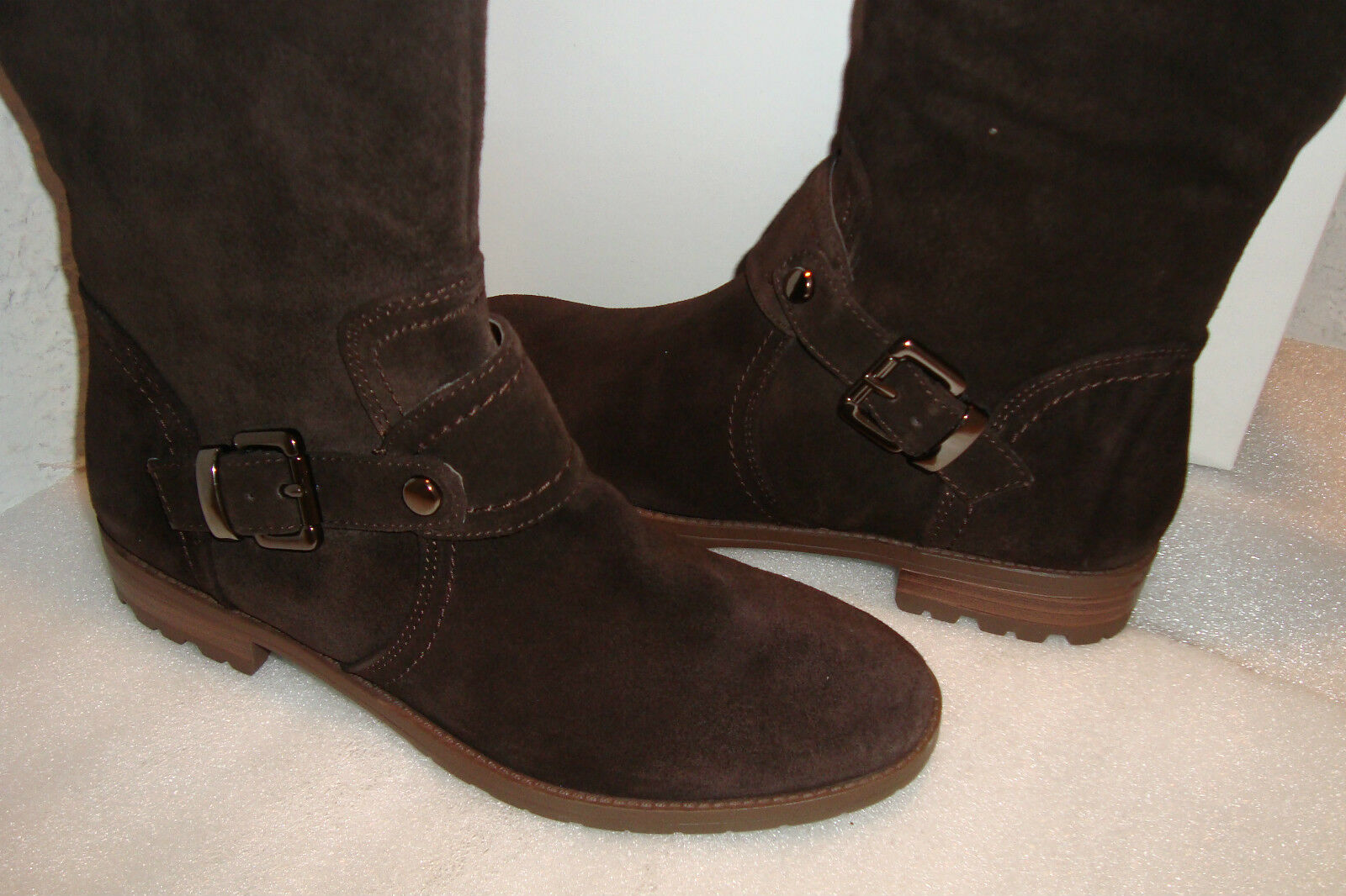 Alfani Womens Womens Womens NWB Sage Dark Brown Boots shoes 6 MED NEW 08e0e3