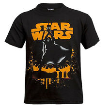 Kids Boys Official Marvel Star Wars 100% Cotton Printed T-Shirt Tops Age Boys' Clothing (2-16 Years) 5 to14