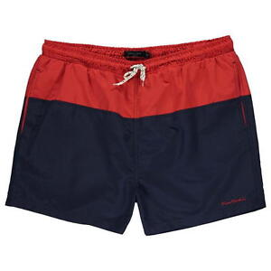 Obligatorisch Mens Pierre Cardin Navy/red Swim Shorts-rrp £29.99-big N Tall Sizes-sale 10% Off Herrenmode Kleidung & Accessoires