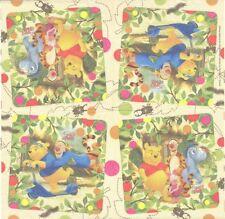 Lot de 2 Serviettes en papier Winnie l'ourson Decoupage Collage Decopatch