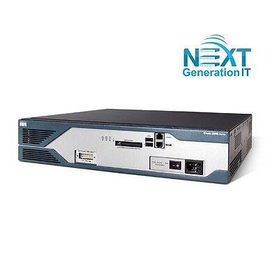 CISCO2821-SEC/K9 Cisco 2821 Security Bundle Router with Adv. Security,128F/512D