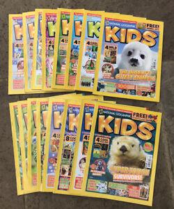 National geographic kids magazine 2012-2013 - 16 Magazines