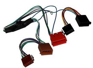 Adaptador cable enchufe ISO para autoradio de Audi A2 A3 A4 A6 A8 TT