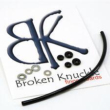 Black,Tool,Hdw,2 Stickers,1 Grip Tape SH Fingerboard 29mm O-ring Bushing Trucks