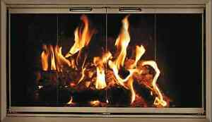 lennox fireplace doors. Image is loading Polished Brass Fireplace Glass Doors for Lennox and  Superior