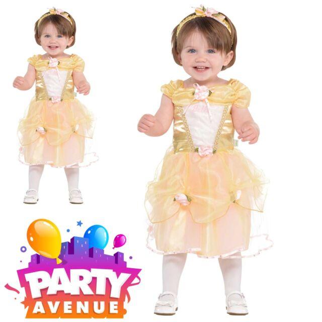 fd6160907 Official Disney Princess Belle Baby Toddler Girl Dress up Costume ...