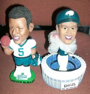2-Donovan-McNabb-Bobbleheads-w-Boxes-Mint-Condition