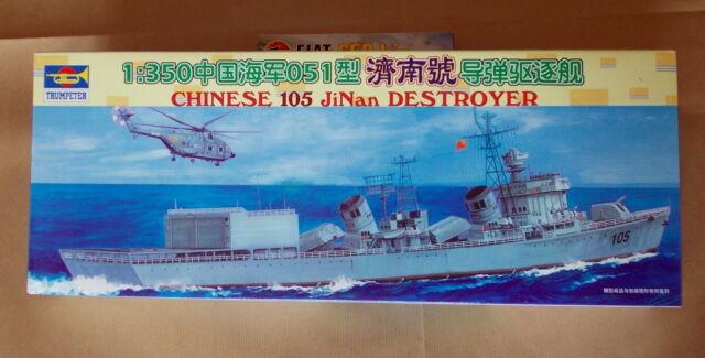 Destroyer 105 JiNan   1/350  Trumpeter