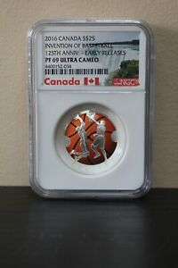 2016-Canada-Invention-of-Basketball-125th-Anniv-Early-Releases-S-25-NGC-PF69