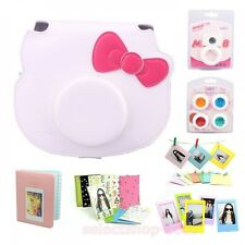 Sanrio Hello Kitty FUJI FILM camera Cheki Accessory instant Polaroid pink japan