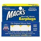 DJP Mack's Pillow Soft Silicone Ear Plugs Pairs 2