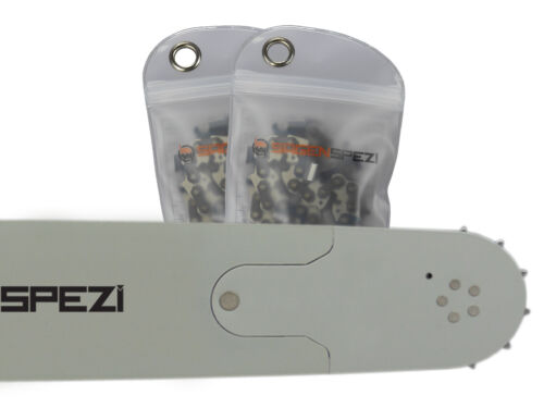 """Schwert 2 Ketten passend für Husqvarna 61 55 cm 3//8/"""" 76 TG 1,5 mm Sägekette"""