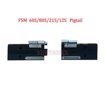 1pair 250um Bare Fiber Holder Suit for FSM-60S//R FSM-80S//80R Splicer Machine